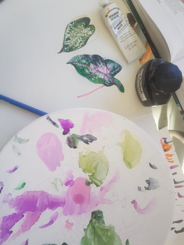 Susannagh Grogan Irish Printed Textile Designer | Studio life | Design process