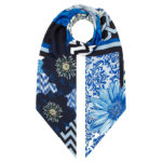 Irish designer Susannagh Grogan long silk scarf