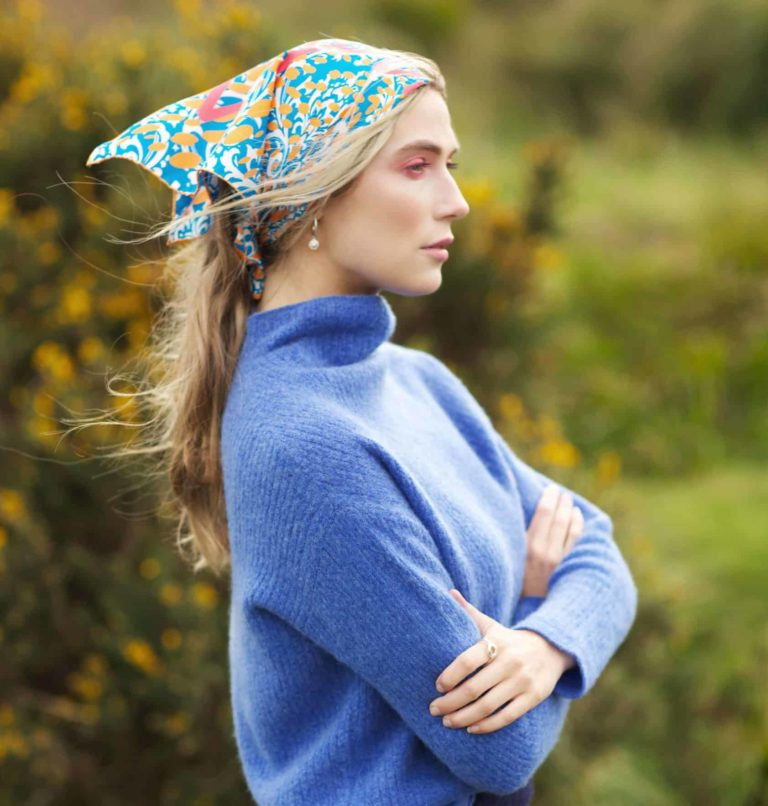 Susannagh Grogan silk scarf Empowerment Collection