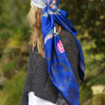 Susannagh Grogan Blue Love scarf