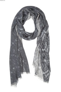Susannagh Grogan Grey long scarf